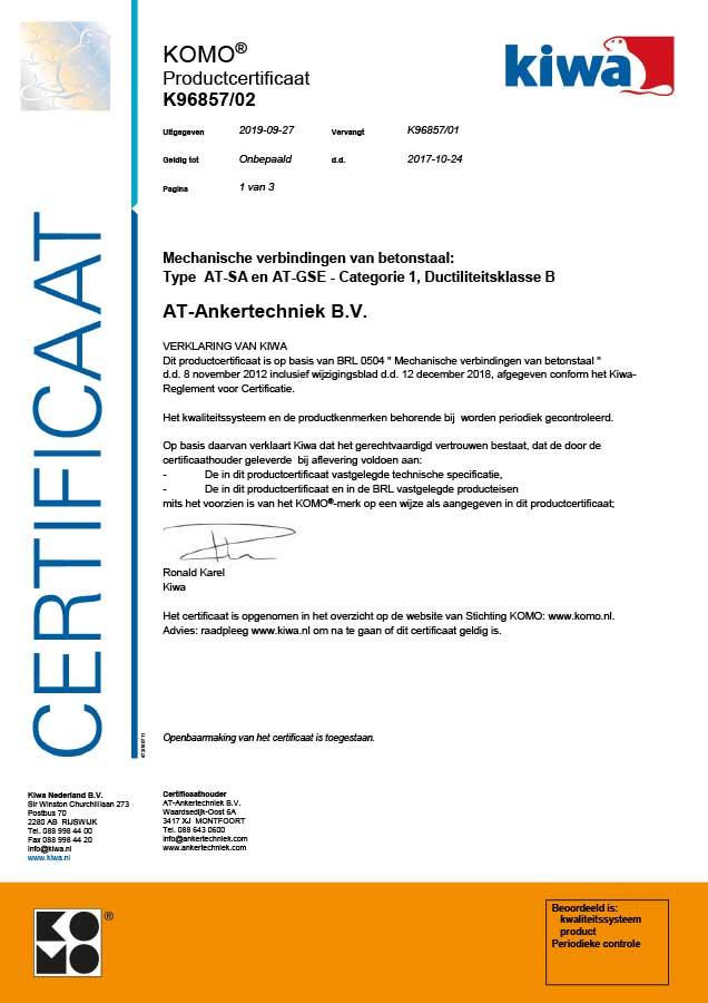 komo-certificaat-ankertechniek